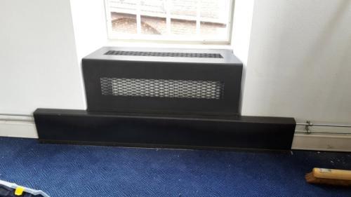 radiatorbekleding als vensterbank